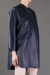 Céline Vintage Oversized Leather Coat - Lyst