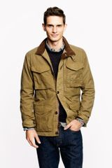 J.Crew British Millerain Waxed Cotton Field Jacket - Lyst