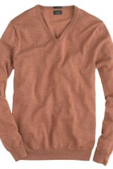 J.Crew Slim Merino V-neck Sweater - Lyst