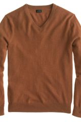 J.Crew Cashmere V-neck Sweater - Lyst