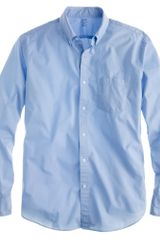 J.Crew Slim Lightweight Garment dyed Shirt - Lyst