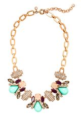 J.Crew Honeybee Necklace - Lyst