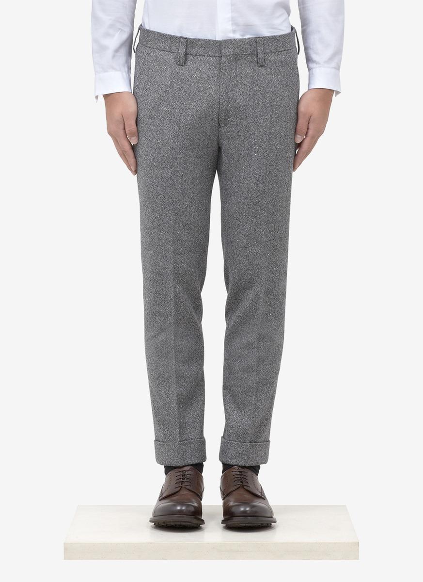 Kolor Cuffed Pants In Gray For Men Grey Lyst