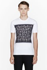 Markus Lupfer White Robot and Bike Chain T_shirt - Lyst