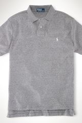 Polo Ralph Lauren Custom Fit Interlock Polo - Lyst