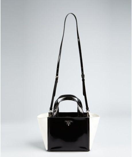 Prada Black And White Checkered Purse Best Image Ccdbb
