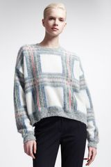 Stella McCartney Oversized Cropped Sweater - Lyst