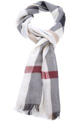 Burberry Brit Check Scarf - Lyst