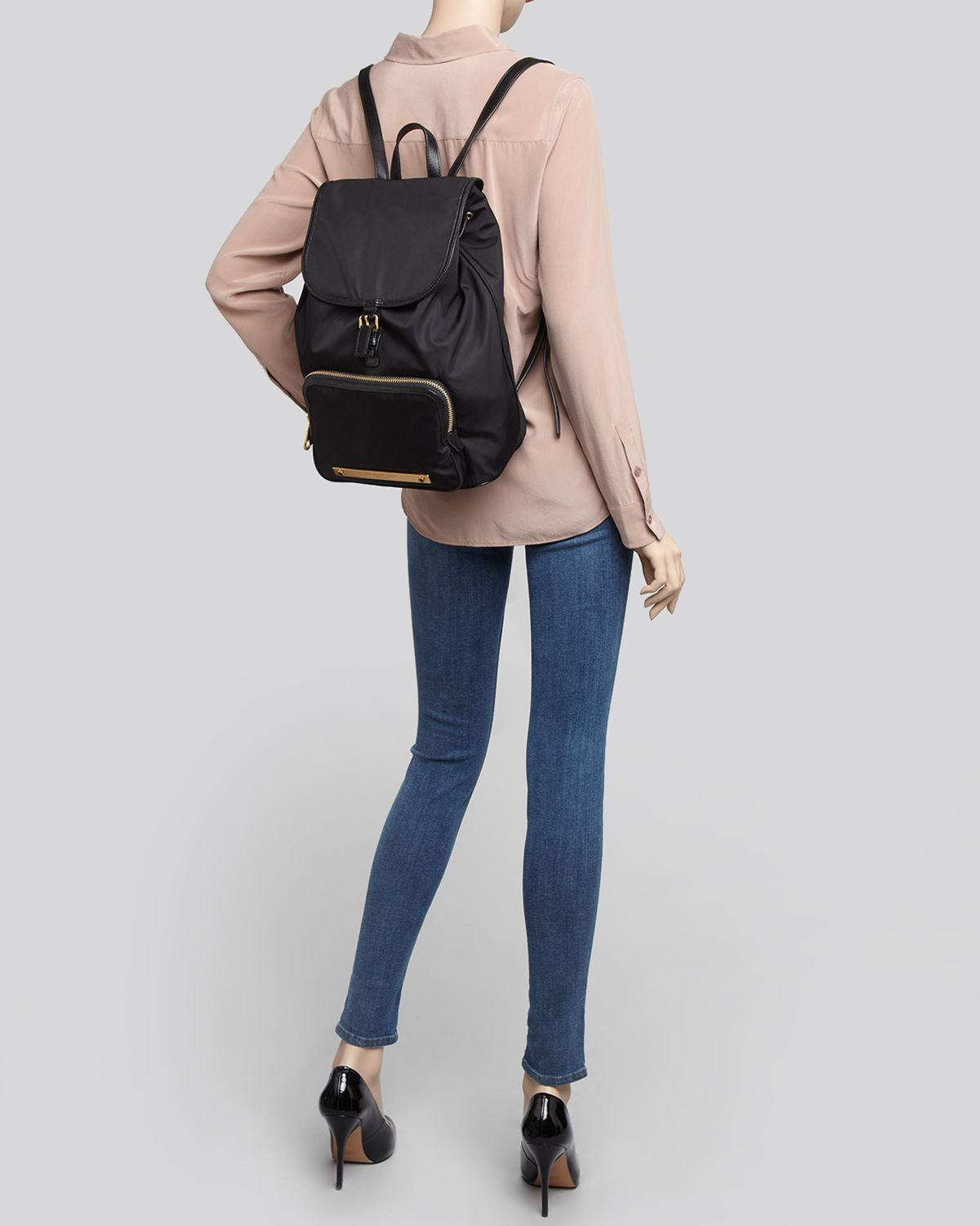 6c905bee6 Marc By Marc Jacobs Backpack Work It Baby Got in Black - Lyst