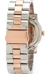 Marc By Marc Jacobs Amy Watch in Silver (gray) - Lyst