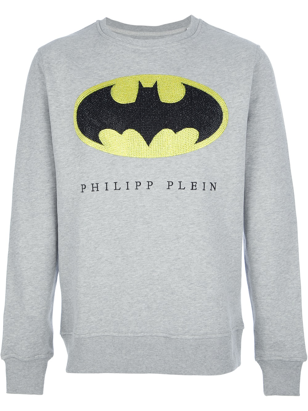 467048d38fa Philipp Plein Batman Sweatshirt in Gray for Men - Lyst