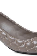 Tory Burch Katlin Quilted leather Courts - Lyst