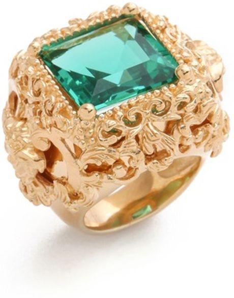 Versace herren ring gold –