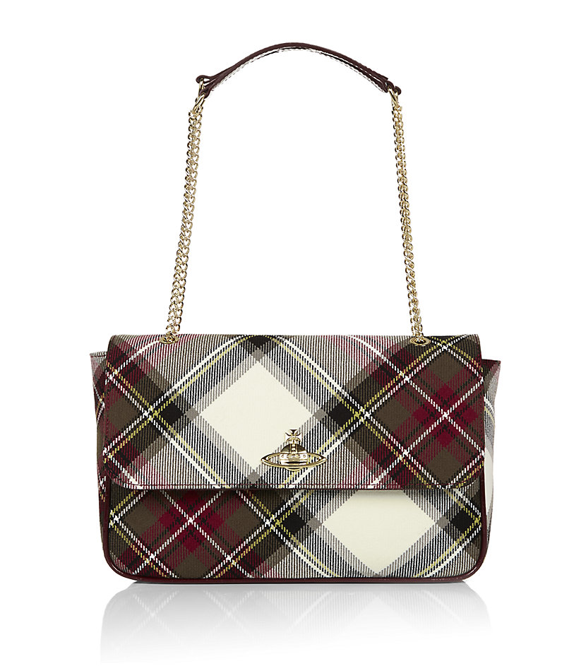 Top Quality Sale Online Clearance Sast Vivienne Westwood tartan shoulder bag asScfco9