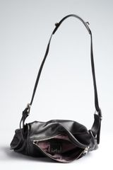 Kooba Black Leather Troi Shoulder Bag in Black - Lyst