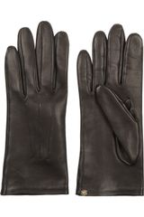 Lanvin Leather Gloves - Lyst