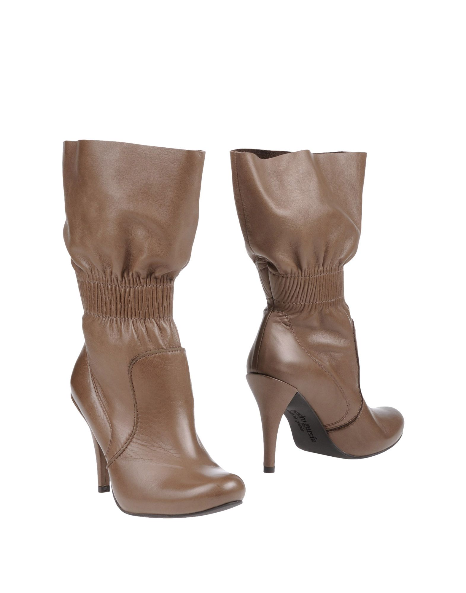 pedro garcia ankle boots in khaki lyst