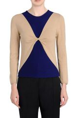 Pringle of Scotland Twisted Front Sweater - Lyst