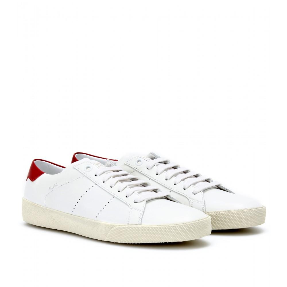 Chaussures De Sport En Cuir Saint Laurent LXYAdvcZ