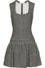 Thakoon Addition Patterned Cottonblend Mini Dress - Lyst