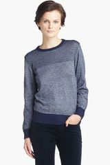 A.P.C. Stripe Sweater - Lyst