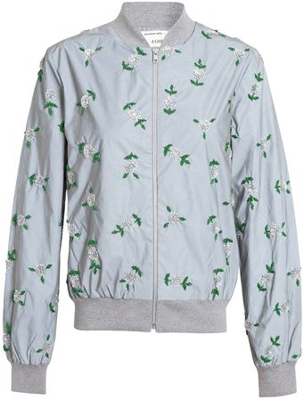 Ashish Embroidered Reflective Bomber Jacket - Lyst