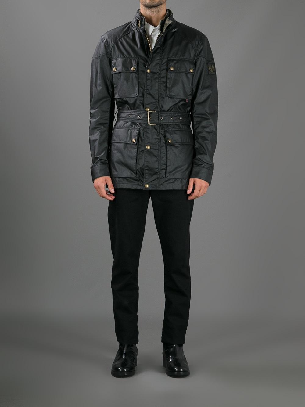c9c9edf28a Belstaff Streetmaster Jacket in Black for Men - Lyst