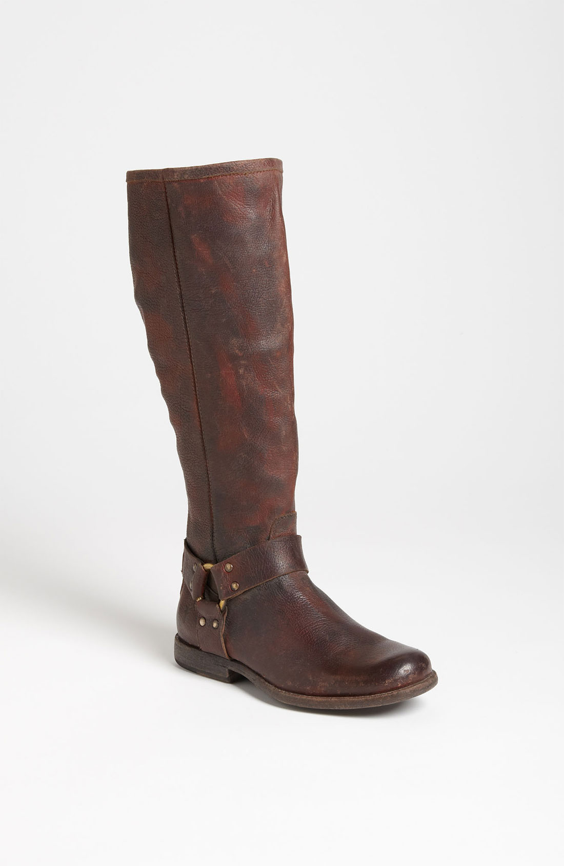 frye phillip harness boot in brown brown lyst
