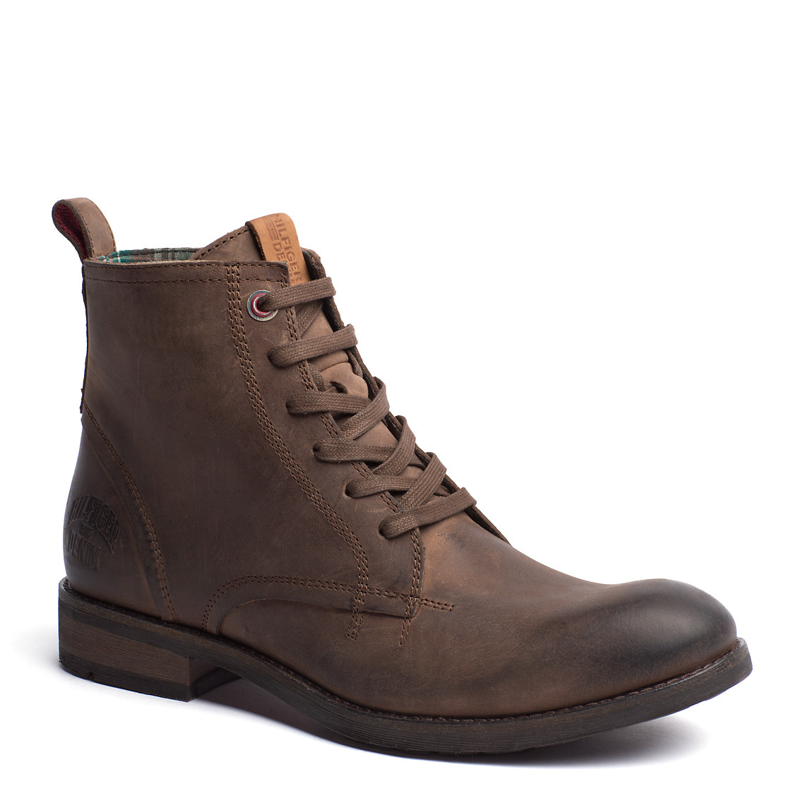 tommy hilfiger darren boot in brown for men dark taupe. Black Bedroom Furniture Sets. Home Design Ideas