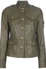 Tory Burch Sergeant Pepper Leather Jacket - Lyst