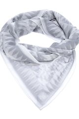 Pierre Balmain Patterned Scarf - Lyst