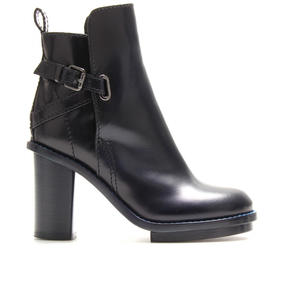 New Fashion Style Of Acne Cypress Leather Ankle Boots Low Cost For Sale Find Great Online Buy Cheap Visit New sUyaJ5Gq0