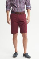 Banana Republic Solid Short Bright Wine - Lyst
