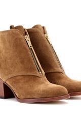 Marc By Marc Jacobs Aurely Suede Ankle Boots - Lyst