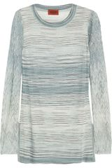 Missoni Crochet knit Sweater - Lyst