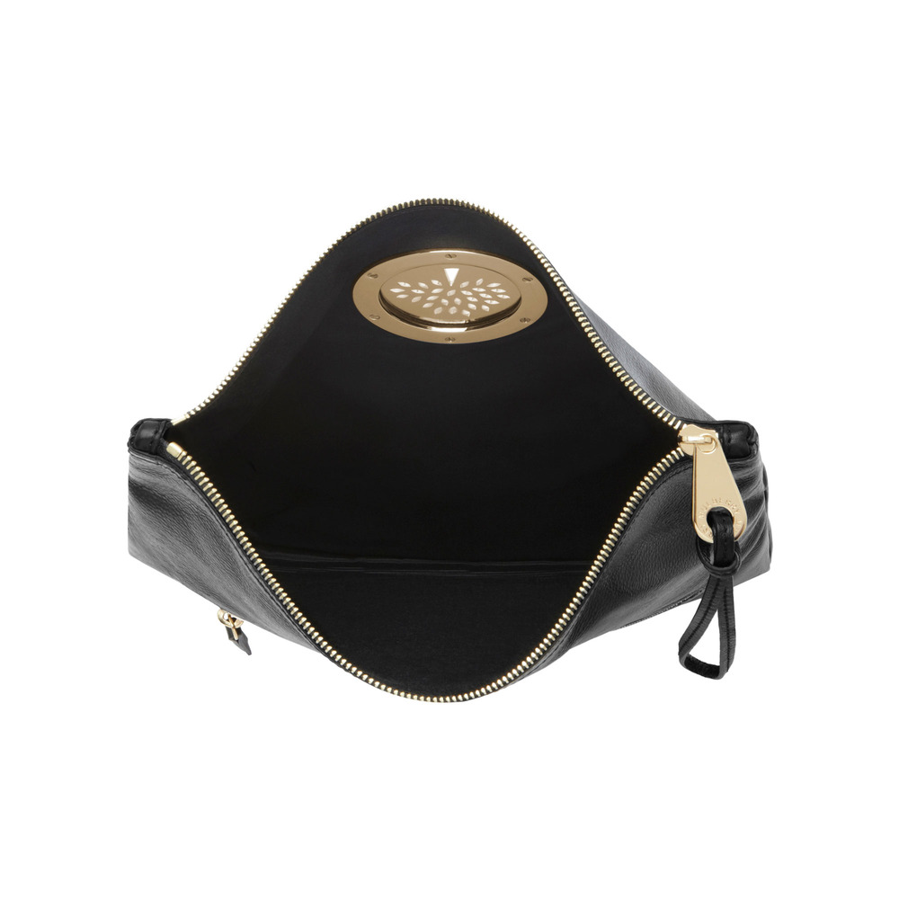 Lyst - Mulberry Daria Clutch in Black b293067520bcd