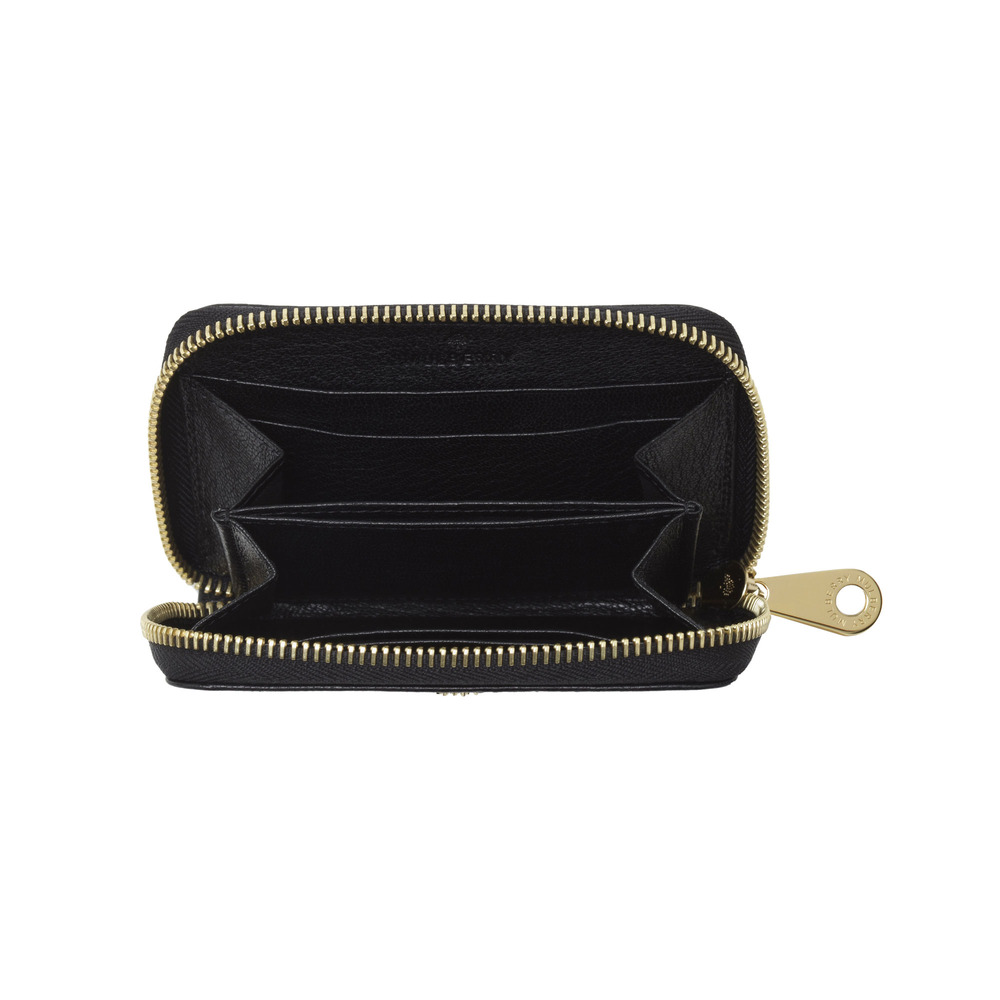 1e6fd91cd0 Mulberry Small Zip Around Purse Black - Best Purse Image Ccdbb.Org