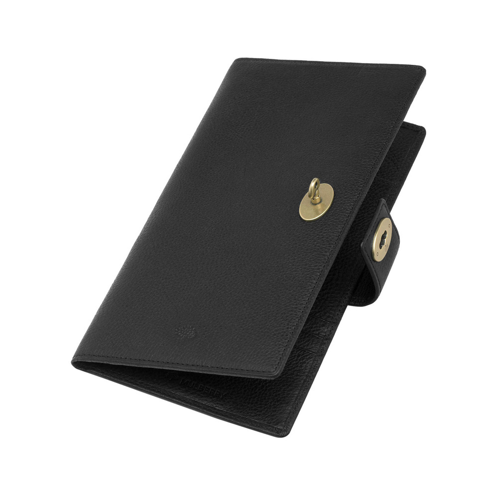 36b70ab2a7 Mulberry Womens Travel Wallet in Black for Men - Lyst