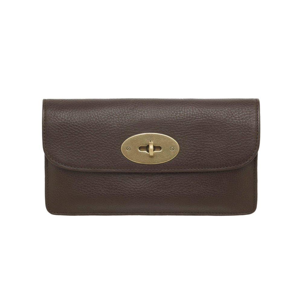 36f37dc1df ... top quality lyst mulberry long locked purse in brown d5dd8 8050f