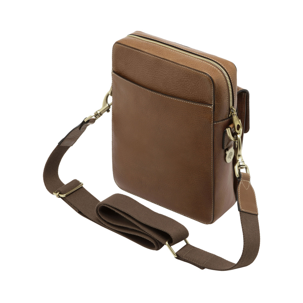 c14f1248b2a Mulberry Postmans Lock Reporter in Brown for Men - Lyst