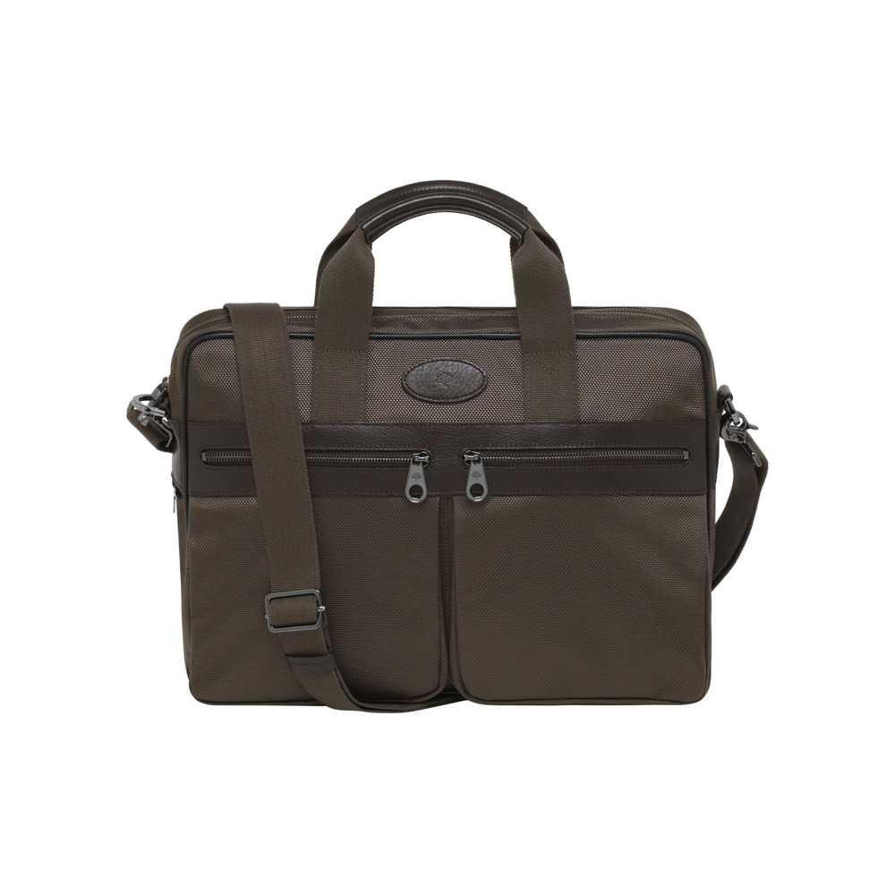 e7512e1c41a6 Lyst - Mulberry Henry Laptop Case in Natural for Men