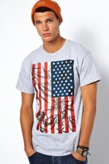 Cheap Monday 10 Deep Tshirt My County Flag Print - Lyst