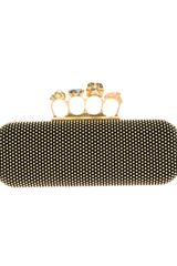 Alexander McQueen Knuckle Duster Box Clutch - Lyst
