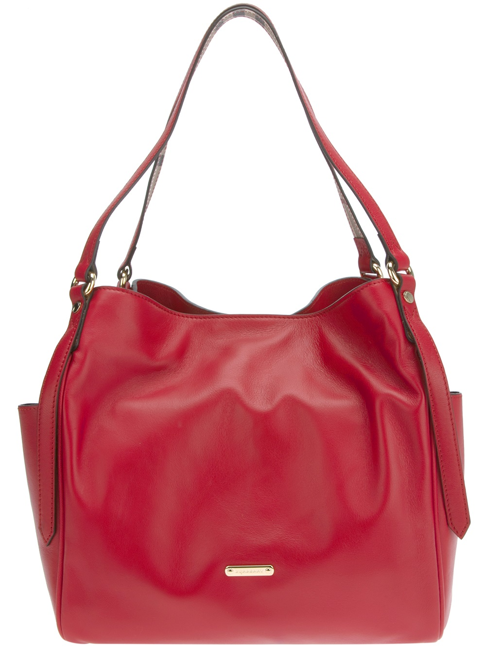 Burberry Red Purses Best Purse Image Ccdbb. Burberry Haymarket Panels  Canterbury Small Tote Bag Military Red d6cd34ee87
