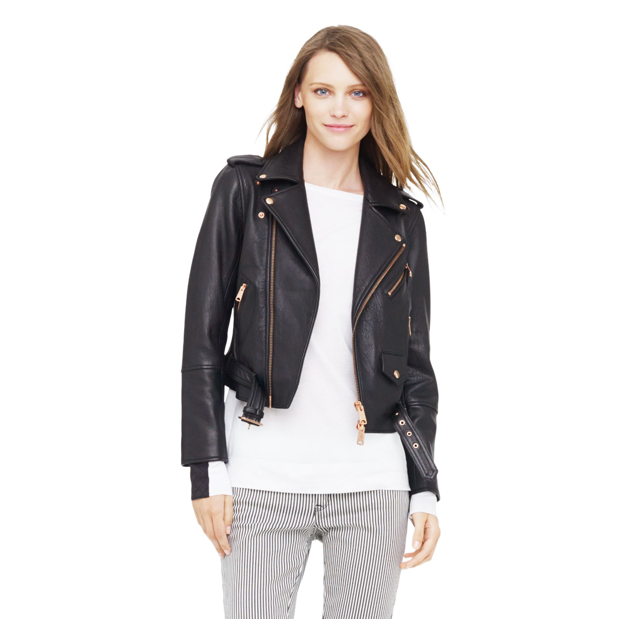 Club monaco Christy Jacket in Black | Lyst