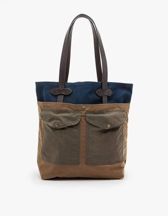Filson Medium Tote with Pockets - Lyst
