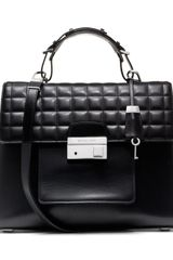 Michael Kors Carrington Top Handle Satchel - Lyst