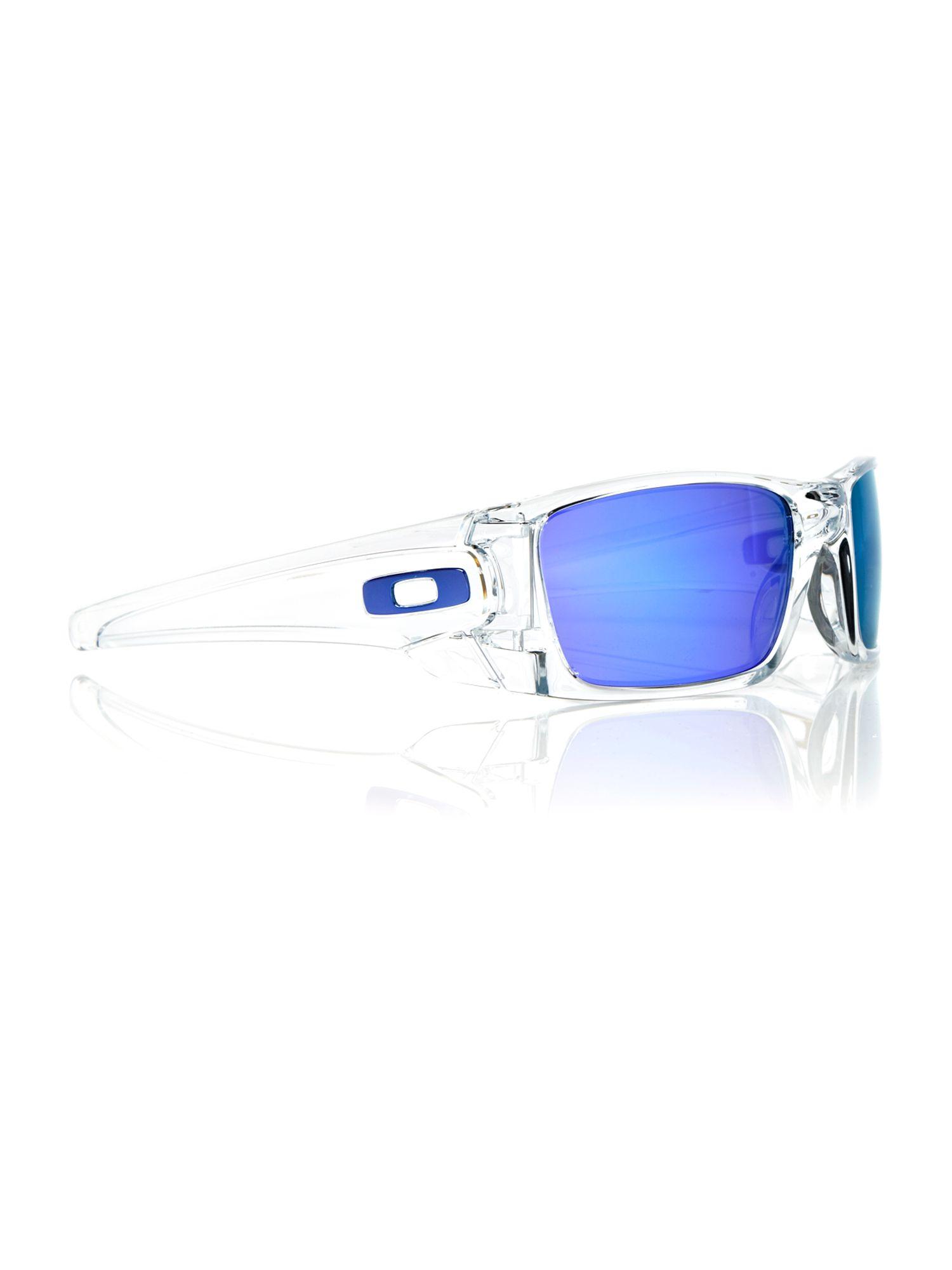 a952ac2f05f Oakley Fuel Cell Blue Frame Purple Lens Sunglasses