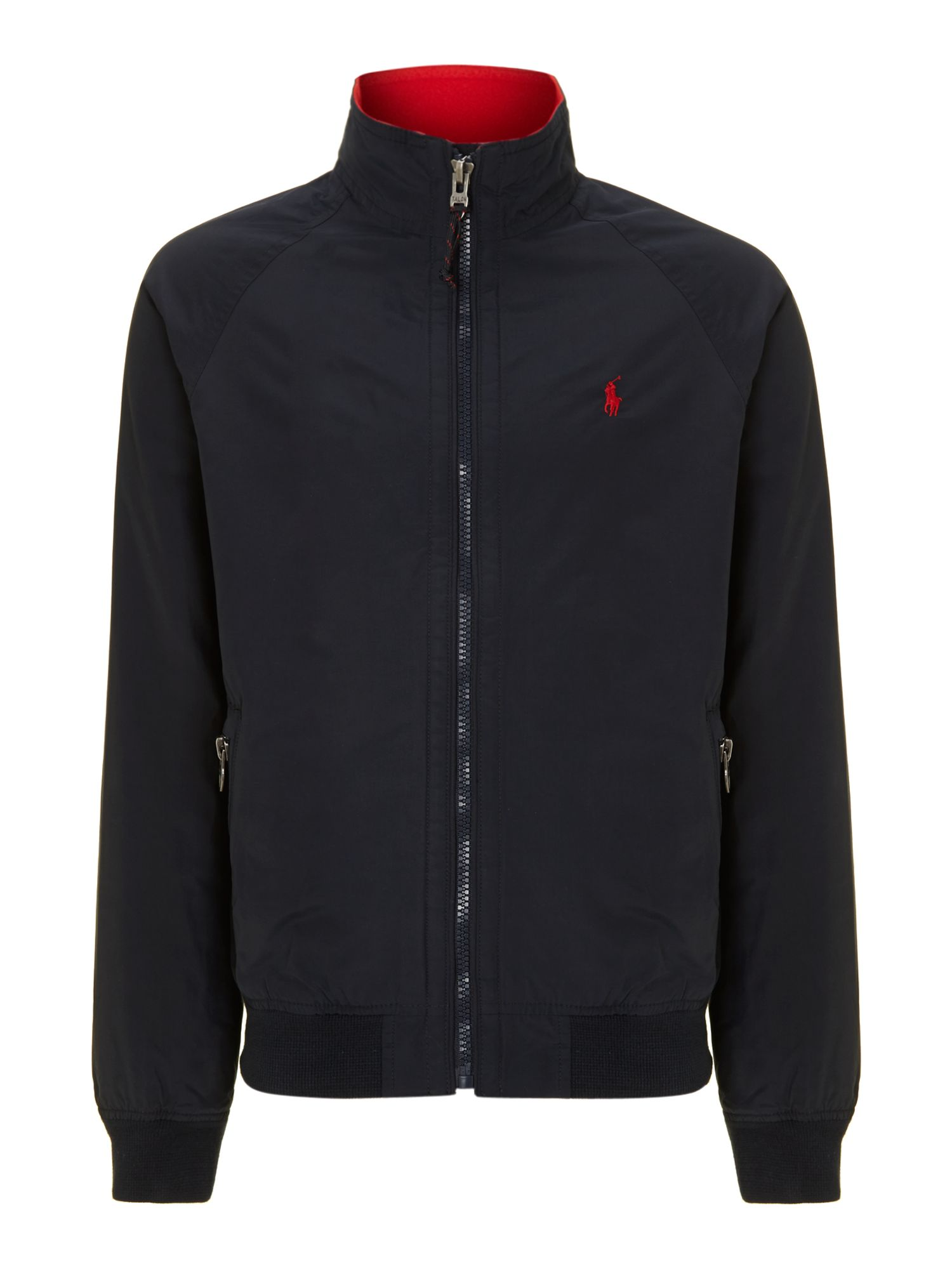 polo ralph lauren portage bomber jacket in blue for men lyst. Black Bedroom Furniture Sets. Home Design Ideas