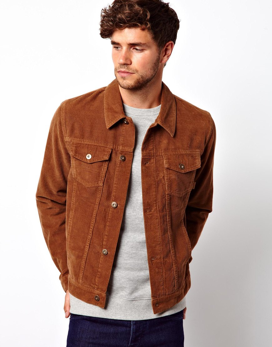 Corduroy Men Shirt Designer